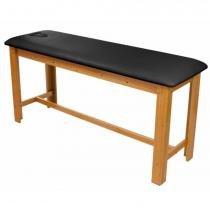 Maca - Mesa de Massagem Fixa de Madeira com Orifício para o Rosto - Arktus