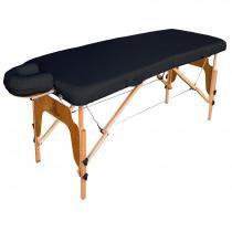 Maca para massagem, Mesa Portátil Arktus - Preto - Arktus