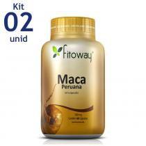 MACA PERUANA FITOWAY 500mg - 2x 60 CAPS -