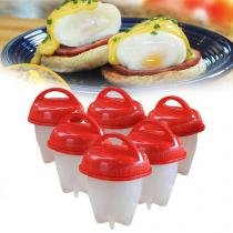 Magic Egg Forma Cozinhar Ovos Fácil Fit Silicone Oferta - Asotv