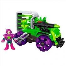 Maginext super friends veiculo lex luthor mattel m5649 - Mattel