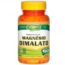 Magnésio Dimalato 60 cápsulas de 600mg - Unilife
