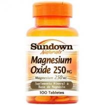 Magnesium Oxide 250mg - 100 Tabletes - Sundown -