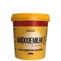Maizzena para cabelos glatten professional creme alisante 500g -