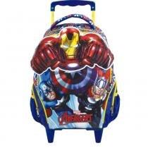 "Mala Com Rodas Infantil 14"" Avengers Action - Xeryus - Xeryus"