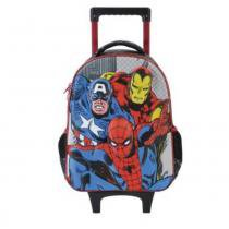 "Mala Com Rodas Infantil 14"" Marvel Comics Champions - Xeryus - Xeryus"