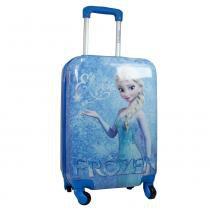 Mala de Viagem 18 Frozen MF10105FZ Azul - Luxcel