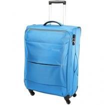 Mala de Viagem American Tourister Média - Expansiva Tropical Spinner Azul