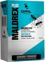 Maldrex plux formicida pó 1 kg com 20 - Dipil