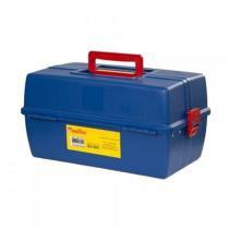 Maleta para ferramentas 3 bandejas Azul - Multbox - Multbox