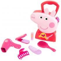Maleta Peppa Pig - Peppa Cabelereira - DTC -