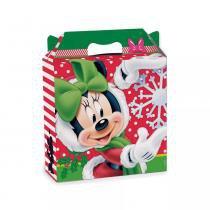 Maleta Quadrada Natal Minnie 20X7X20 - Cromus -
