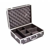 Maleta rígida com divisórias para câmera digital SLR, filmadora profissional e acessórios - VIVVHC1800 - Vivitar -
