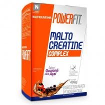 Malto Creatine Complex Nutrilatina Powerfit Guaraná com Açaí - 400 g - Nutrilatina