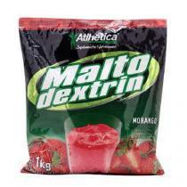 Maltodextrin - Morango1000g - Atlhetica - Atlhetica nutrition