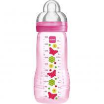 Mamadeira mam fashion bottle rosa 330 ml - Mam