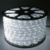 Mangueira luminosa led branco corda natal pisca rolo 100mt 220v - 1096 - Xl
