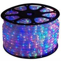 Mangueira luminosa led corda natal pisca colorido rolo 100mt - 220v - 1098 - Xl