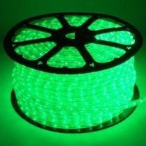 Mangueira luminosa led verde corda natal pisca rolo 100mt 110v - 1094 - Xl