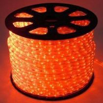 Mangueira luminosa led vermelho corda natal pisca rolo 100mt 110v - 1093 - Commerce brasil