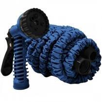 Mangueira Mágica WOOW 15m Azul com 7 Tipos de Jatos - Woow
