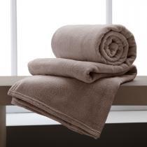 Manta Casal 2,20m x 1,80m Flannel Home Design Corttex - Corttex