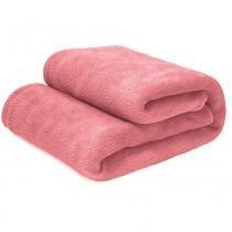 Manta Cobertor Solteiro 100 Microfibra Flannel 180G/m² - Camesa