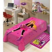 Manta de microfibra Barbie Mattel - Jolitex - CasaTema