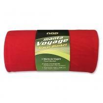Manta de Viagem Nap 165x88 cm - Vermelho -