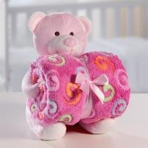 Manta e Bichinho de Pelúcia Bouton - Baby - Microfibra -