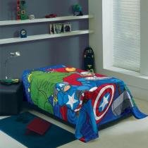 Manta Infantil Avengers Lepper Fleece -