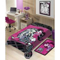 Manta Infantil  de Microfibra Monster High - Jolitex - Macia -
