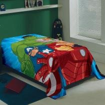 Manta Infantil Fleece Avengers - Lepper -