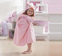 Manta Kids Com Capuz Le Petit Coruja 1,30x0,60-Corttex -