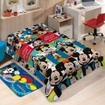 Manta Microfibra Disney soft Mickey Friends  Jolitex -