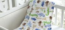 Manta Microfibra Infantil 90x110cm Glorius Baby Estampa Carinhoso Corttex -