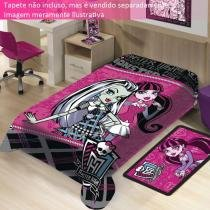 Manta Microfibra Monster High Mattel - Jolitex - CasaTema