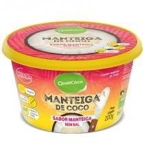 Manteiga de Coco Qualicoco 200g Sabor Manteiga -