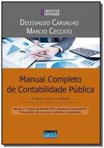 Manual completo de contabilidade publica - serie i - Impetus