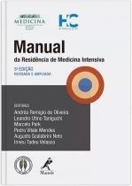 Manual Da Residencia De Medicina Intensiva - 05 Ed - Manole - saude