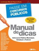 Manual De Dicas - Advocacia Publica Municipal Estadual E Federal - Saraiva - 953059