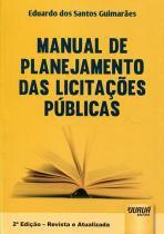Manual de Planejamento das Licitações Públicas - Juruá