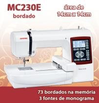 Maquina de Bordado Domestica Janome MC230E -