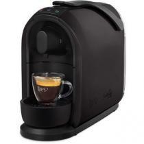 Máquina de Café Espresso Automática TRES Mimo Cápsula 110v  - Preta -