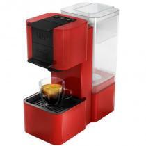 Máquina de Café Expresso e Multibebidas Três Corações TRES POP 127V Vermelha Automática - Tres coracoes