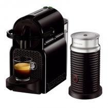 Máquina de Café Expresso Nespresso Inissia Preta Aeroccino 3 Refresh 220V - nespresso