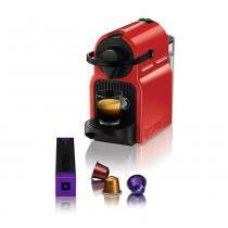 Máquina De Café Inissia Ruby Red Nespresso -