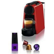 Máquina de Café Nespresso Essenza Mini D30 127V Vermelha -