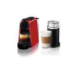 Máquina de Café Nespresso Essenza Mini D30 Aeroccino 3 Vermelha 127v -