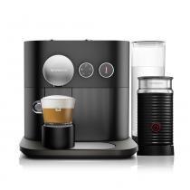 Máquina de Café Nespresso Expert C80 Aeroccino 3 Preta 220v -